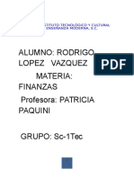 t.f Finanzas