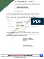 Contoh Surat Keputusan Pengangkatan Karyawan Kontrak