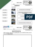 Worksheet3 Pollution
