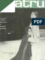 Revista Teatrul, nr. 5, anul XI, mai 1966