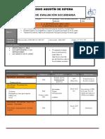 Plan y Programa de Evaluacion 2º, 2do Bloque