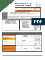 Plan de Evaluacion 3er Periodo 2º