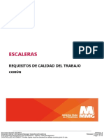 Trabajos en Altura - Escaleras - Requisitos de Calidad de Trabajo (Común) - 8318373