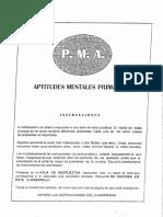 PMA Aptitudes Mentales Primarias Cuadernillo y hoja de Respuestas.pdf