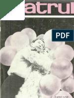 Revista Teatrul, nr. 6, anul XI, iunie 1966
