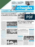 Edición Impresa Elsiglo 14-12-2016