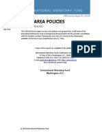 Imf_euro Area Policies July 2016