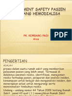 MANAGEMENT SAFETY PASIEN DI RUANG HEMODIALISA.ppt presentasi PITDA.ppt