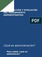 Administración y Escuelas Del Comportamiento Humano (1)