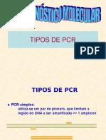 Diagnóstico Molecular - Tipos de PCR