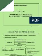 Tema 1 - Marketing Empresa Economia y Sociedad