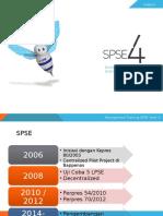 1. Slide Pengenalan SPSE Versi 4 (Ref.12.5.2015)