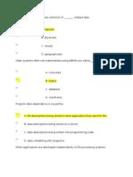 Database Practice MC