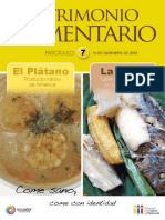 7 PAlimentario Platano, Yuca