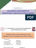 Tribology Presentation(OEP) Bearing