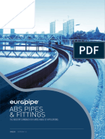 Eurapipe ABS Pipe - Fittings Manual