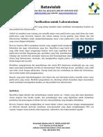 Water Purification Untuk Laboratorium