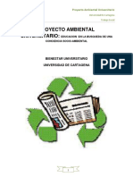 Proyecto Ambiental Universitario
