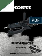 Productsheet Bristle Blaster P-033-En