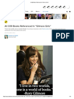 All 339 Books Referenced in _Gilmore Girls