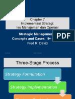 Implementasi Strategi