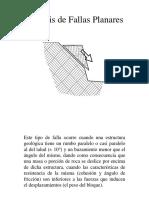Analisis de Fallas Planares