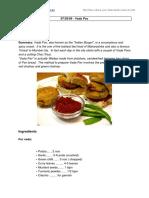 Recipe of vada Pav