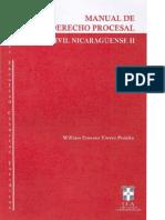 97162496 Manual de Derecho Procesal Civil Nicaraguense Tomo II William Ernesto Torrez Peralta