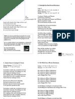 HUM Christmas Song Lyrics.pdf