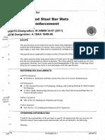 M 54-07 (2011) [Welded Deformed Steel Bar Mats for Concrete Reinforcement]
