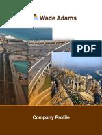 Wade Adams Company Profile 030516