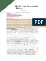 Il Progetto Divina Commedia Di Peter Weiss