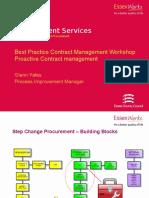 Best Practice Contract Management Workshop