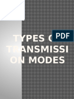Types of Transmission Modes