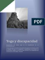 Yoga y Discapacidad