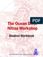 OD Nitrox Workshop Student Workbook V00bh