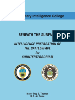 Intelligence Preparation of the Battlespace for Counterterrorism