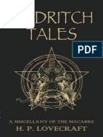 H. P. Lovecraft - Eldritch Tales - A Miscellany of the Macabre (Epub)