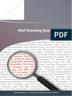 Red Teaming Guide - MoD-UK 2013