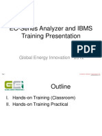 GEI EC-Series Analyzer IBMS Training