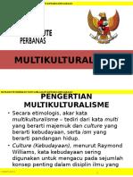 (10) MULTIKULTURALISME