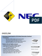 NEC Ipasolink Introduction