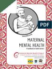 Maternal Mental Health Handbook for health workers