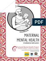 Maternal Mental Health Handbook for health workers