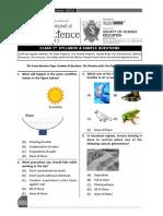 Class03 Science IOS Sample