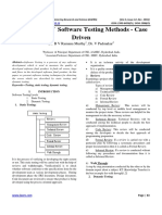 Significance of Software Testing Methods - Case Driven