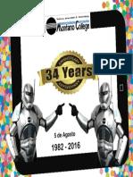 34 Aniversario Montano College