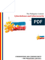 Cyberdefense - The Philippine Context