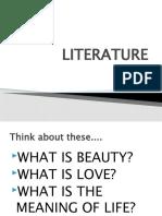 LITERATURE_Characteristics and Importance