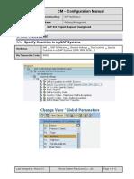 CM Address Config Manual